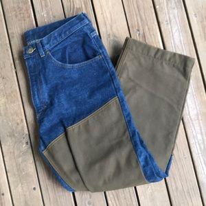 LL bean jeans double L fit 32 waist